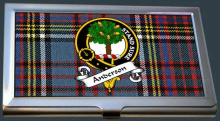 Card Case - Clan/Family A-L