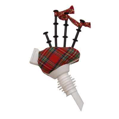 Musical Bagpipe Whisky Pourer