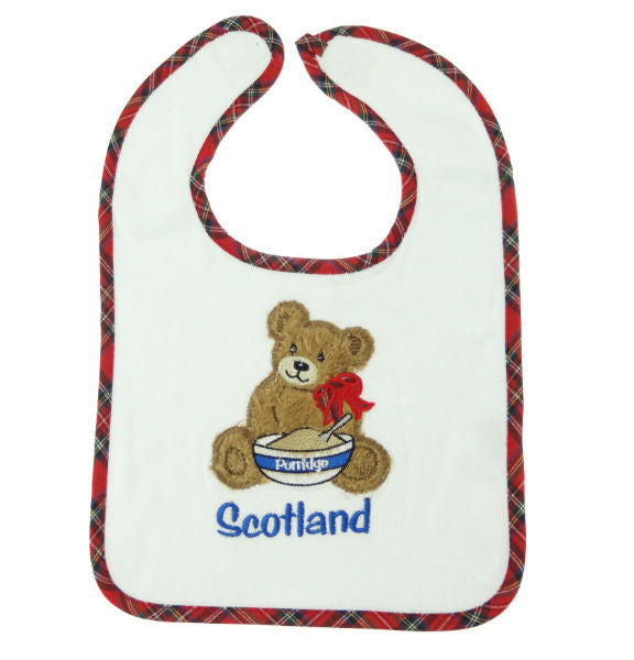 Scottish Bib - Teddy