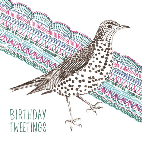 Birthday Card - Birthday Tweetings