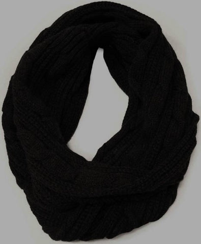 Snood - Aran Black