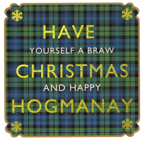 Christmas Card Pack - Braw Christmas