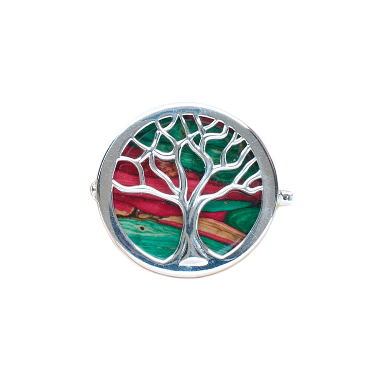 Heathergems Tree of Life Brooch