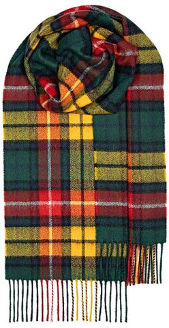 Scottish Clan & Family Tartan Scarves A-L