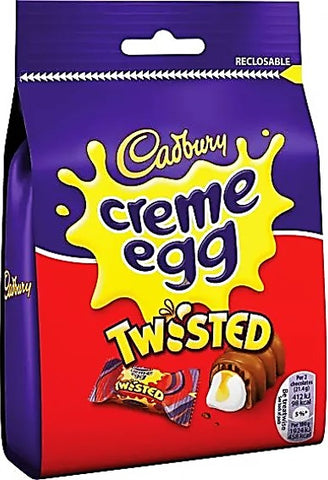Cadbury Crème Egg Twisted Bag