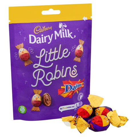 Chocolate - Cadbury Dairy Milk Little Robins Daim Bag