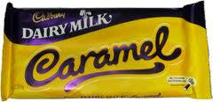 Chocolate - Cadbury Dairy Milk Caramel