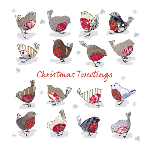 Christmas Card Pack - Christmas Tweetings