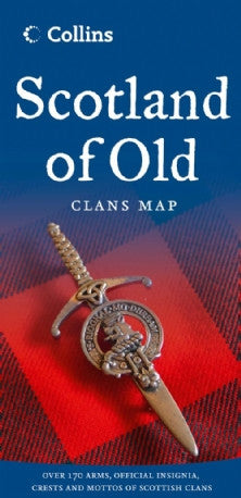 Scotland of Old Clans Map