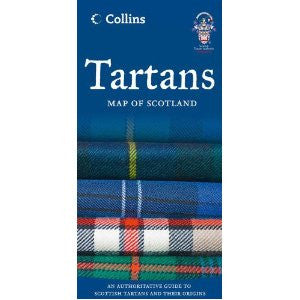 Tartans Map of Scotland