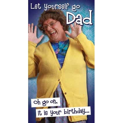Birthday Card - Mrs. Brown's Boys - Dad