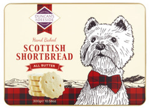 Duncan's of Deeside All Butter Shortbread Gift Tin