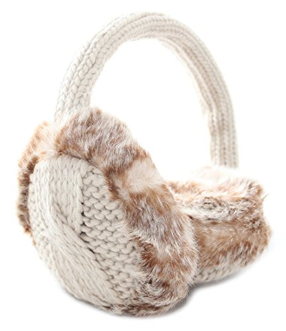 Ear Muffs - Lady of Aran Cable Knit