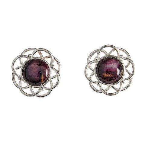 Heathergem Mor Stud Earrings