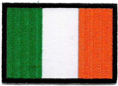 Embroidered Badge - Ireland Flag