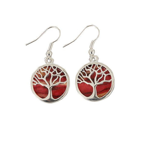 Heathergem Tree of Life Earrings