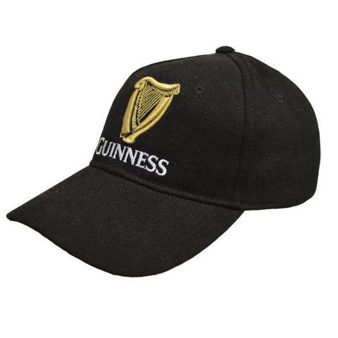 Guinness Black Signature Emblem Ball Cap