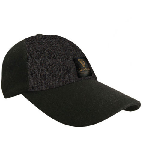 Guinness Embossed Tweed Ball Cap
