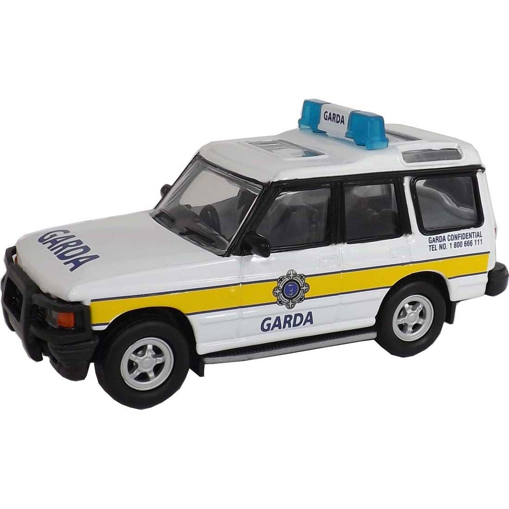 Irish Die Cast Garda Land Rover