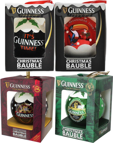 Guinness Christmas Baubles
