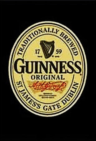 Fridge Magnet - Guinness Label