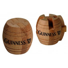 Guinness Wooden Barrel Puzzle