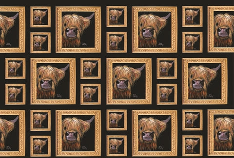 Gift Wrap & Tags - Highland Cow