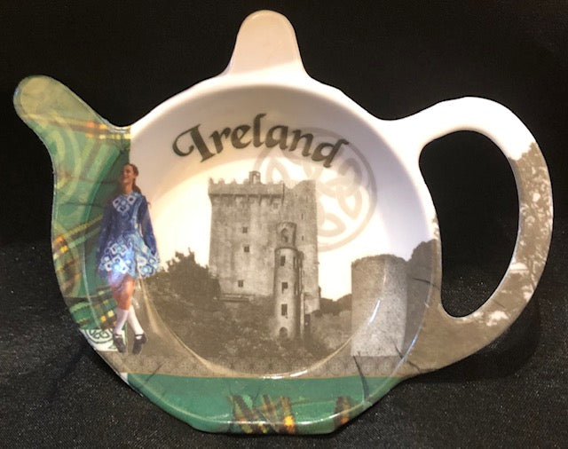 Heraldic Ireland Tea Bag Holder