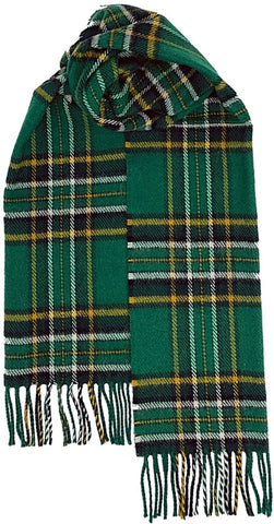 Irish National & County Tartan Scarves