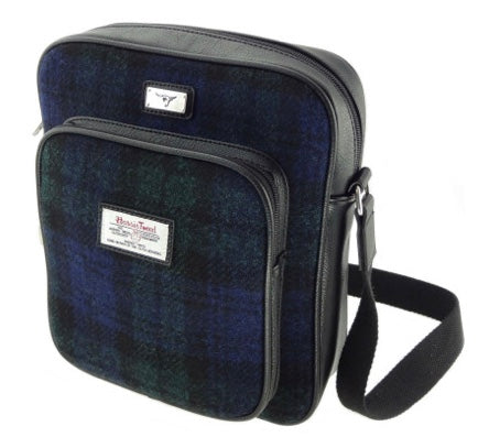 Harris Tweed Man Bag - Tay