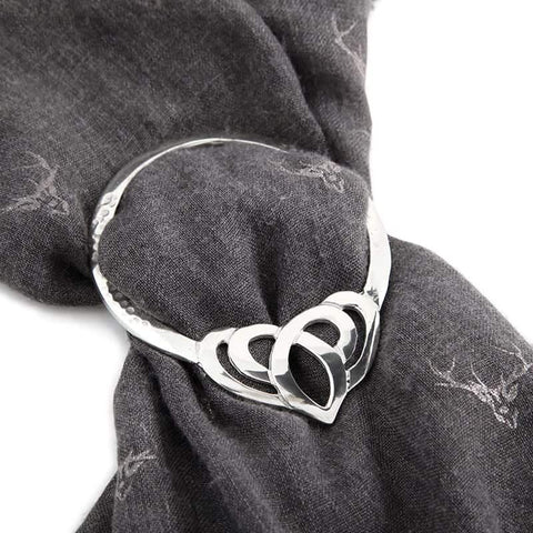 Scarf Ring - Celtic Knot