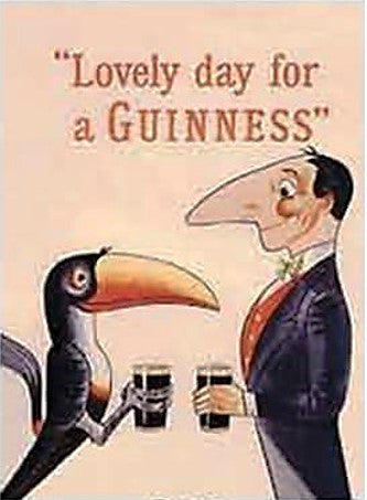 Fridge Magnet - Lovely Day For A Guinness