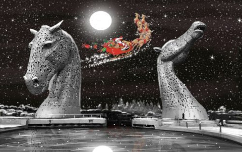 Christmas Card Pack - Merry Kelpie Christmas