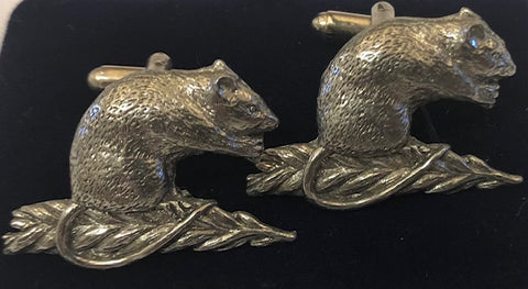 Mouse Cuff Links