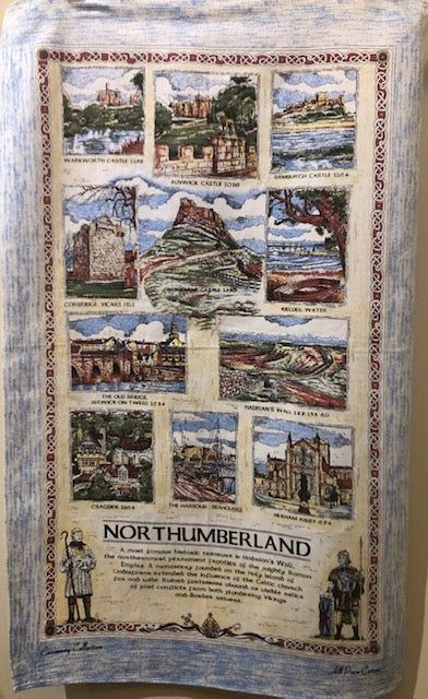 Tea Towel - Northumberland