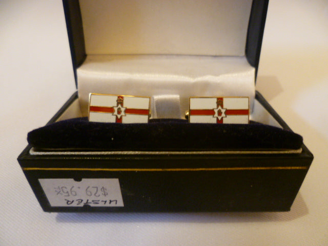 Ulster Flag Cuff Links