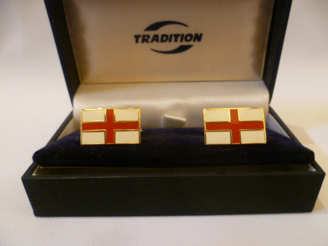 England (St. George's Cross)  Cuff Links