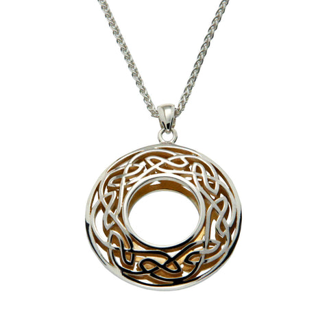 Celtic Knot Pendant - Large