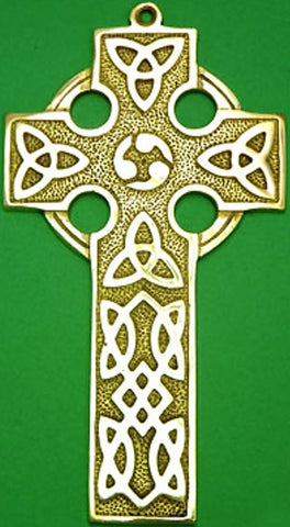 Plaque - Celtic Cross Wall Hanging Large