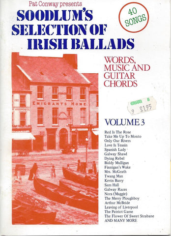 Soodlum's Selection of Irish Ballads Vol. 3