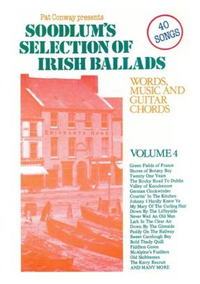 Soodlum's Selection of Irish Ballads Vol. 4