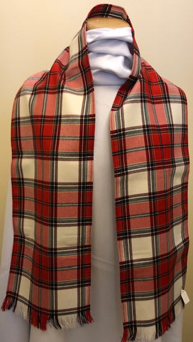 Calgary Dress Tartan Lightweight Wool Scarf