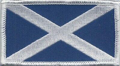 Embroidered Badge - Saltire