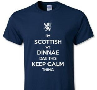 Scottish Keep Calm