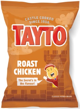 Tayto Roast Chicken Crisps