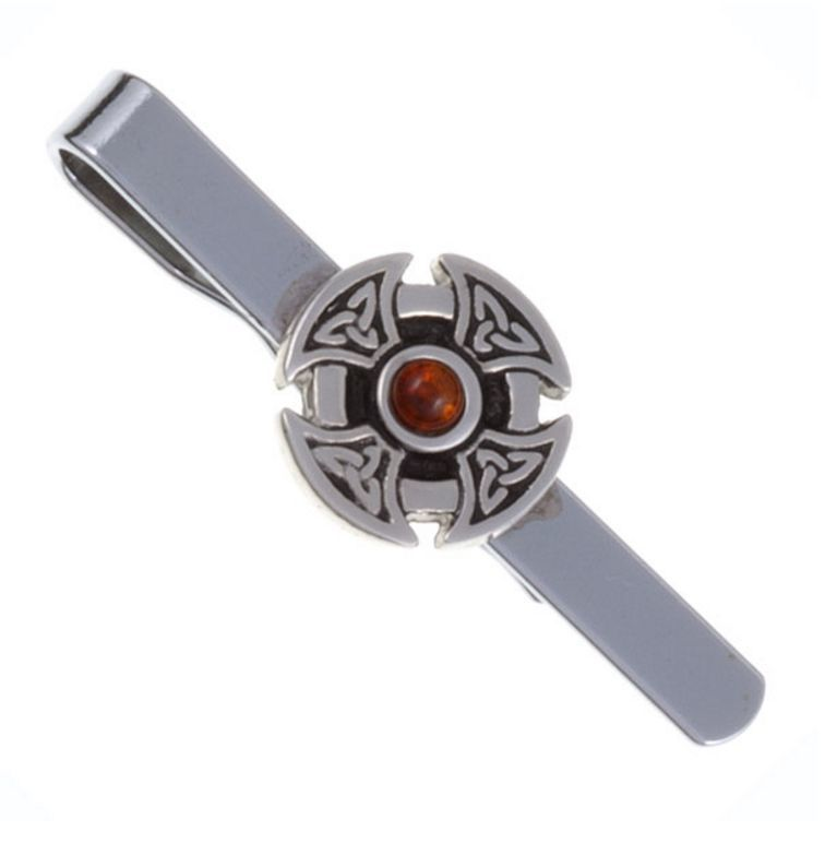 Celtic Cross Tie Bar