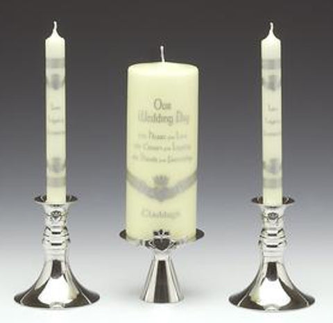 Claddagh Unity Candle Set
