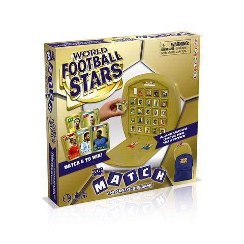 World Football Stars Match Crazy Cube Game