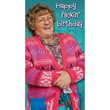 Mrs. Brown's Boys Happy Birthday Card