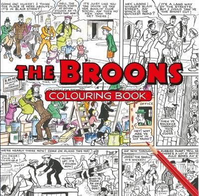 The Broons Colouring Book